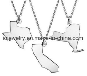 Personalized Jewelry Map Country State Pendant pictures & photos