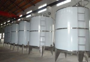 Customized Sanitary Stainless Steel Storage Tank pictures & photos