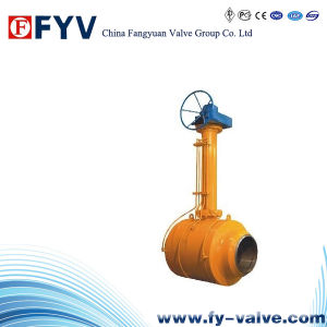 API6d Forged Steel Trunnion Mounted Ball Valve pictures & photos