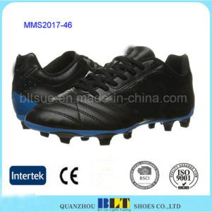 PU Upper Thin Comfort Tongue Quality Shoes Men pictures & photos