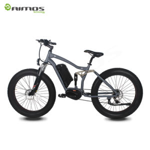 Bafang MID Drive Motor Fat Type Mountain E Bike pictures & photos