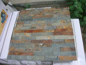 Slate Mosaic Slate, Slate Flagstone, Slate on Mesh pictures & photos