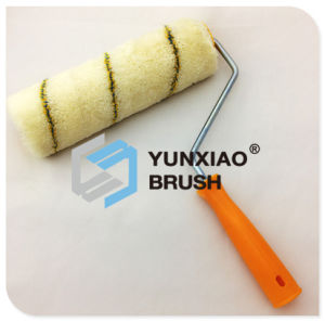 Microfiber High Twist Paint Roller Brush with Stripe pictures & photos