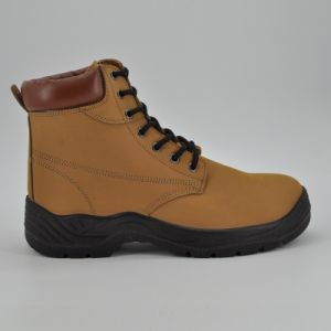 Stylish Nubuck Leather Work Safety Boots Ufb053 pictures & photos