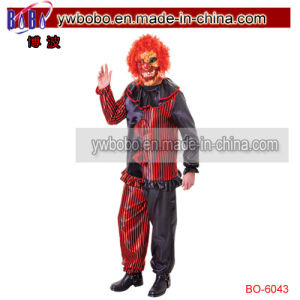 Zomble Clown Costume Wich Mask Halloween Carnival Fancy Dress (BO-6043) pictures & photos