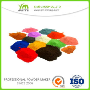 SGS Bonding Technology Sparking Metallic Silver Powder Coating Paint pictures & photos