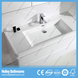Hot Selling Bathroom Vanity with Mirror and 2 Side Cabinets (BF381D) pictures & photos