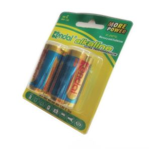 2PCS Blister Cards 1.5V Alkaline Battery Lr14 C pictures & photos