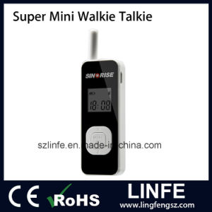 Linfe Lf-Sr616 Professional Super Mini Walkie Talkie with Good Quality for Hotel Home Use pictures & photos