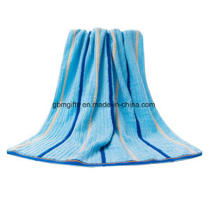 High Quality 60X120 Solid Color Bamboo Bath Towels pictures & photos