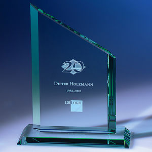 Customize Ad-219 Clear Laser Engraved Acrylic Trophy pictures & photos
