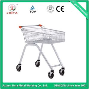 Chinese Economical Metal Shopping Trolley pictures & photos