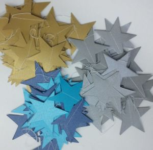 OEM High Quality Star Paper Garland for Hang Decoration pictures & photos