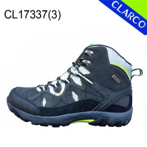 Men Outdoor Hiking Safety Shoes with Cow Sude Upper pictures & photos