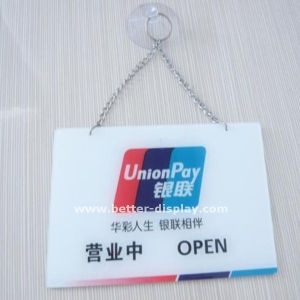 Acryic LED Toilet Sign Plate (BTR-I4004) pictures & photos