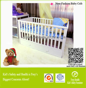 New Design Solid Pine Wood Baby Cribs