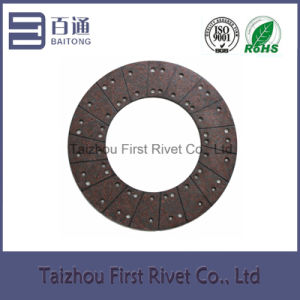Model Fst708 Copper Series Medium-Alkali (Alkali-free) Clutch Facing for Trucks pictures & photos