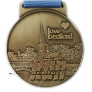 Award Medal for Running Race Bedford