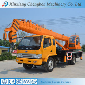 China Famous Brand Telescopic Boom Hydraulic BMC 12t Truck Crane pictures & photos