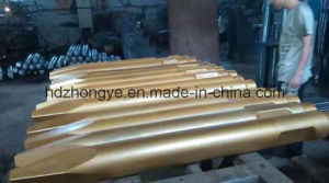 Excavator Spare Part Hb20g Hydraulic Breaker Hammer Parts Moil Type Chisel pictures & photos
