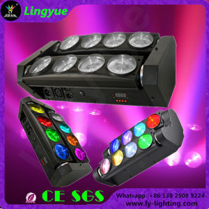 Stage 8X10W LED Spider Beam Moving Head Light pictures & photos