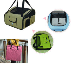Collapsible Leisure Portable Puppy Kitty Bag with Should Strap pictures & photos