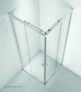 Hr-08-S Square Sliding Shower Screen pictures & photos