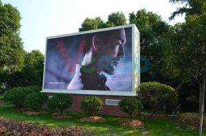 Outdoor Advertising P6 Full Color LED Display Screen Cabinet pictures & photos