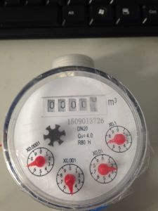 5 Digits Counters Singe Jet Water Meter with Pulse Output pictures & photos