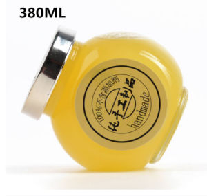 380ml Round Glass Bottle for Placing Nuts