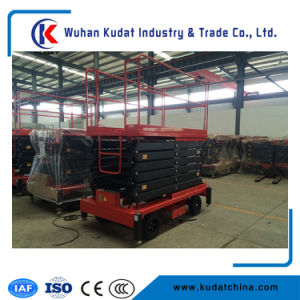9m Mobile Scissor Lift with Ce Certification pictures & photos