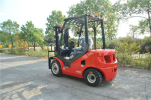 New 3 Ton Diesel Forklift Japanese Engine 3 Meters Lifting Height Mast pictures & photos