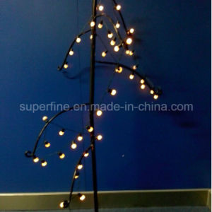 Christmas Tree Decorative Flexible Transparent Line LED String Light with Star Decoration pictures & photos