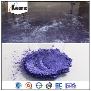 Metallic Epoxy Floor Paint Pigments Supplier pictures & photos