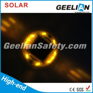 2 Sides Solar LED Cat Eyes Road Stud with Nails pictures & photos