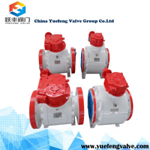 High Pressure Forged Trunnion Ball Valve pictures & photos