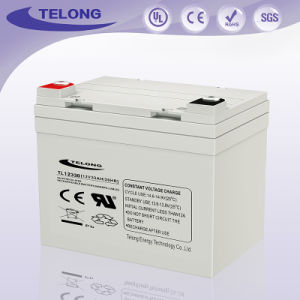 Rechargeable 12V33ah Deep Cycle Solar Power Battery for UPS pictures & photos