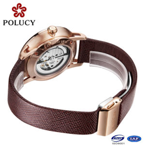 Watch Facotry OEM High Quality Luxury Automatic Mechanical Skeleton Watches pictures & photos
