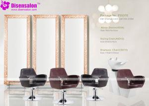 Popular High Quality Salon Furniture Mirror Barber Salon Chair (2037E)