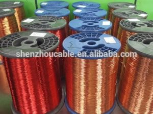 180c Round Aluminium Enamelled Cable Winding Wire pictures & photos