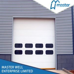 Cheap Price Steel Industrial Sectional Vertical Auto Door pictures & photos