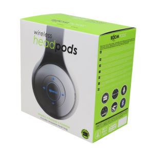 Custom Accept Folding Packing Paper Box for Headphone pictures & photos