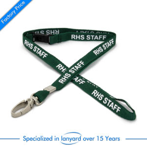 Screen Printed Stain Ribbon Polyester Lanyard pictures & photos