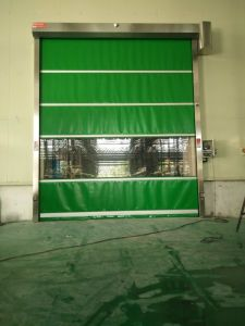 Motorized High Speed Fast Rolling Door pictures & photos