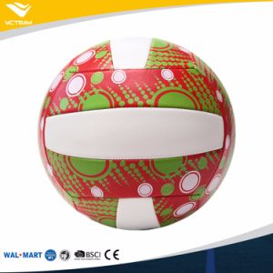 Novel Ce Certified Wearproof Clear Print Volleyball pictures & photos