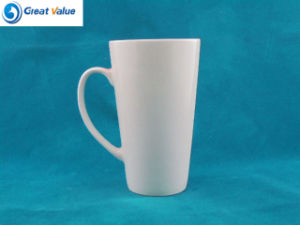 AAA Grade White Ceramic Mug with Customized Logo pictures & photos