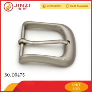 Fashion Silver Pin Belt Buckle for Men