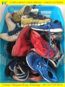 Big Size Man Sport Used Shoes for Africa Market (FCD-005) pictures & photos