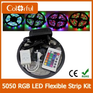 High Quality DC12V SMD5050 Addressable RGB LED Strip pictures & photos