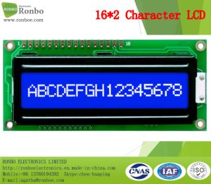 16X2 Stn Character LCD Module, MCU 8bit, Blue Backlight, COB LCD Monitor pictures & photos